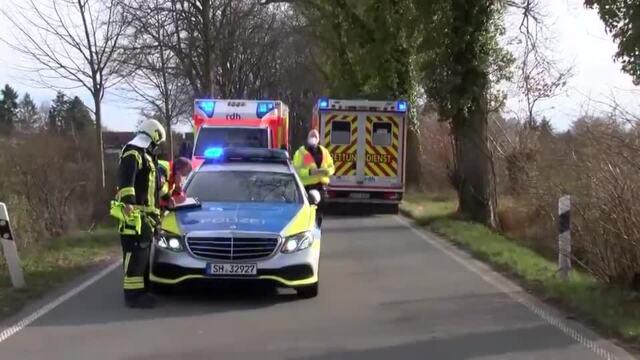 Schwerer Unfall bei Ratekau (10.04.2021)