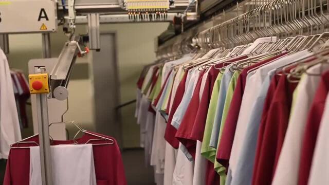 Südstadtklinik eröffnet Rostocks größten Kleiderschrank (Video: Martin Börner | 22.03.2021)