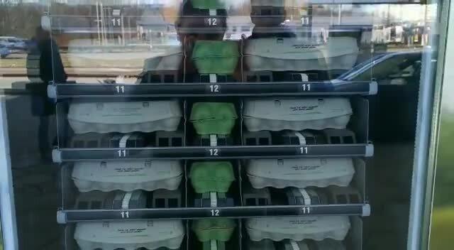 Eierautomat Rostock: So funktioniert's (Video: Maria Baumgärtel | 09.03.2021)