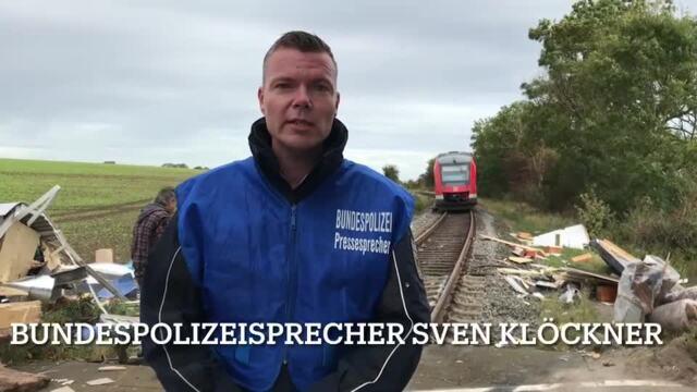 Bahnunfall Sütel