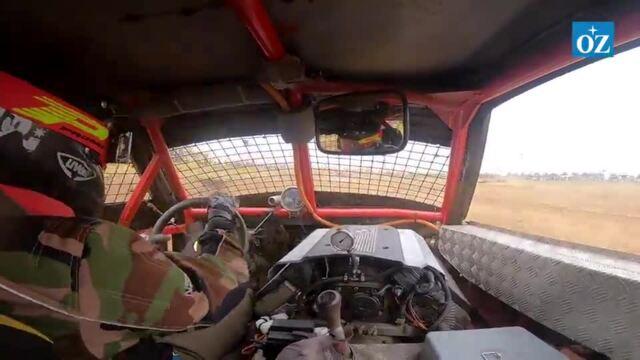 Video aus dem Stockcar-Innenraum (Video: Bert Scharffenberg | 11. September 2021)