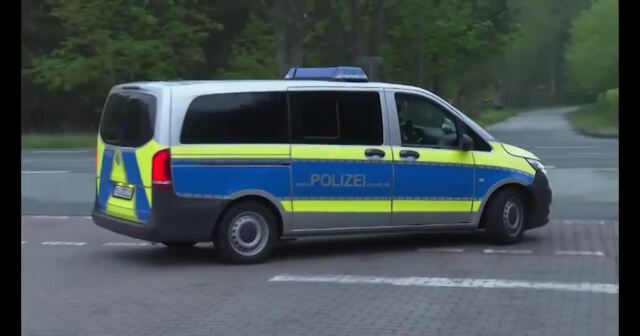 Polizei sprengt illegale Corona-Party in Güstrow (Video: Stefan Tretropp | 14.05.2021)