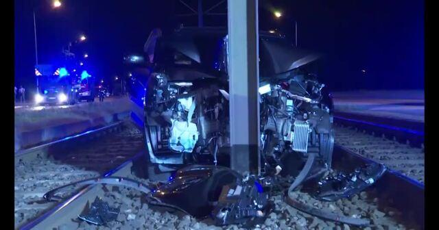 Schwerer Unfall in Rostock-Südstadt (Video: Stefan Tretropp)