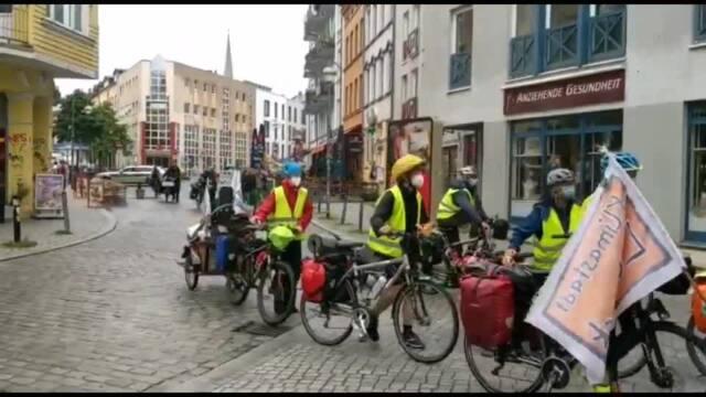 Demo mit Aktivisten aus ganz Deutschland in Rostock (Video: Susanne Gidzinski | 29.08.2021)