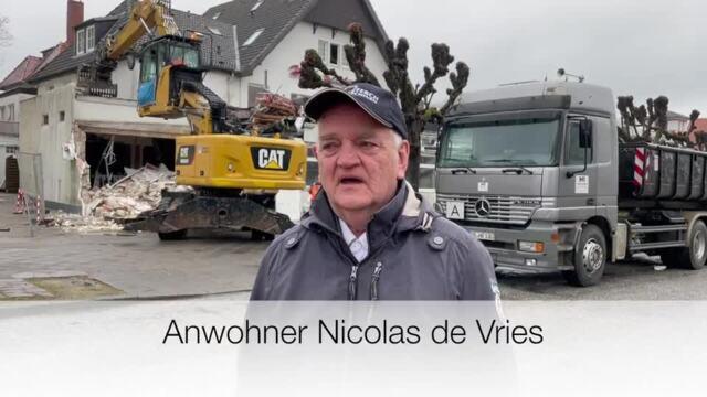 Abriss Hotel Seestern in Travemünde im Video