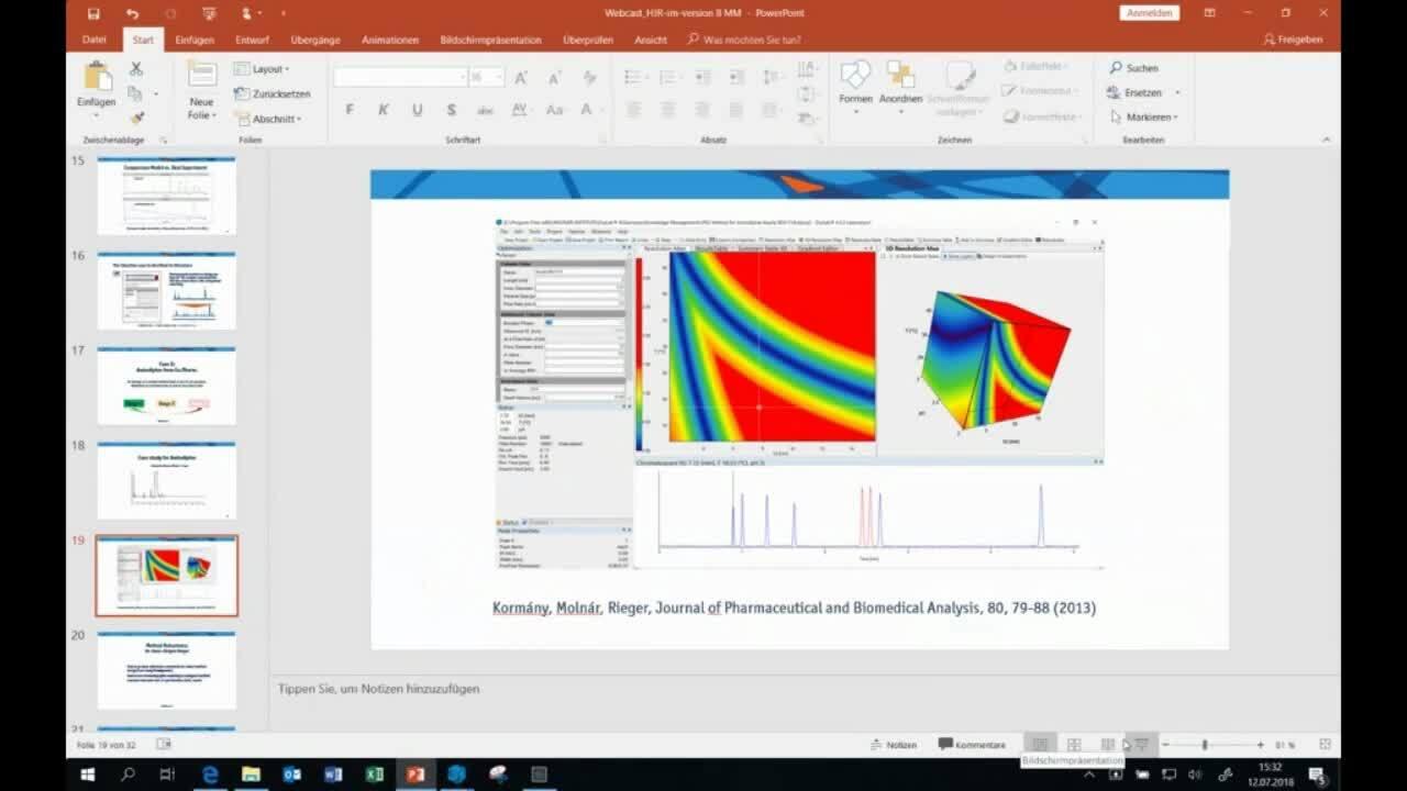 Molnár-Institute - Drylab HPLC Method Development Software