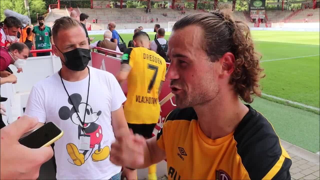 Yannick Stark über Dynamo Dresdens Generalprobe gegen Union Berlin.