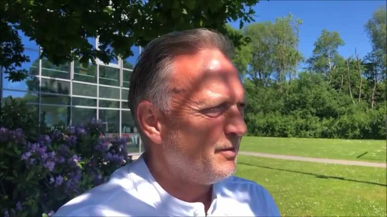 Video-Interview mit KSV-Co-Trainer Dirk Bremser.