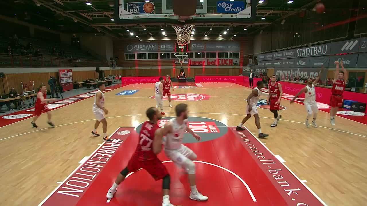 MagentaSport Highlights: Würzburg - BG Göttingen 2020/21