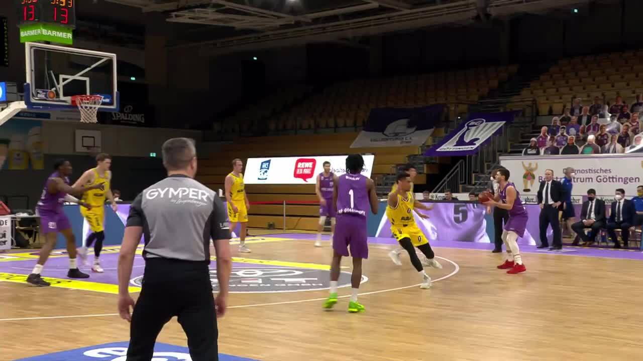 MagentaSport Highlights: BG Göttingen - Alba Berlin 2020/21