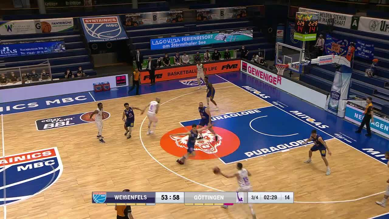MagentaSport-Highlights: SYNTAINICS MBC - BG Göttingen