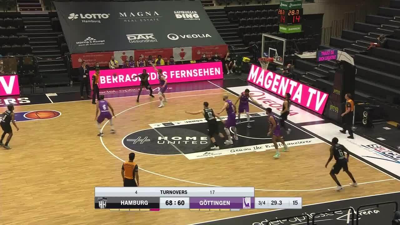 MagentaSport Highlights: Hamburg Towers - BG Göttingen 2020/21