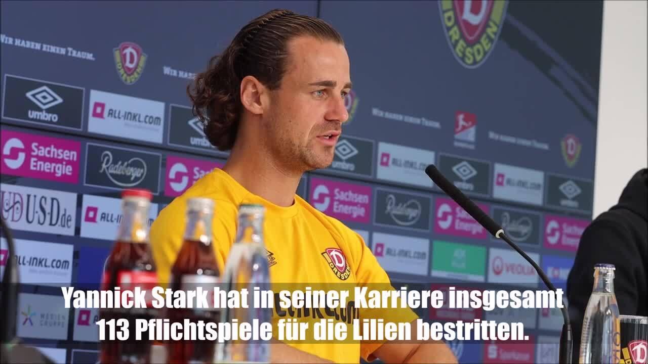 Dynamo-Profi Yannick Stark über sein Comeback am Böllenfalltor