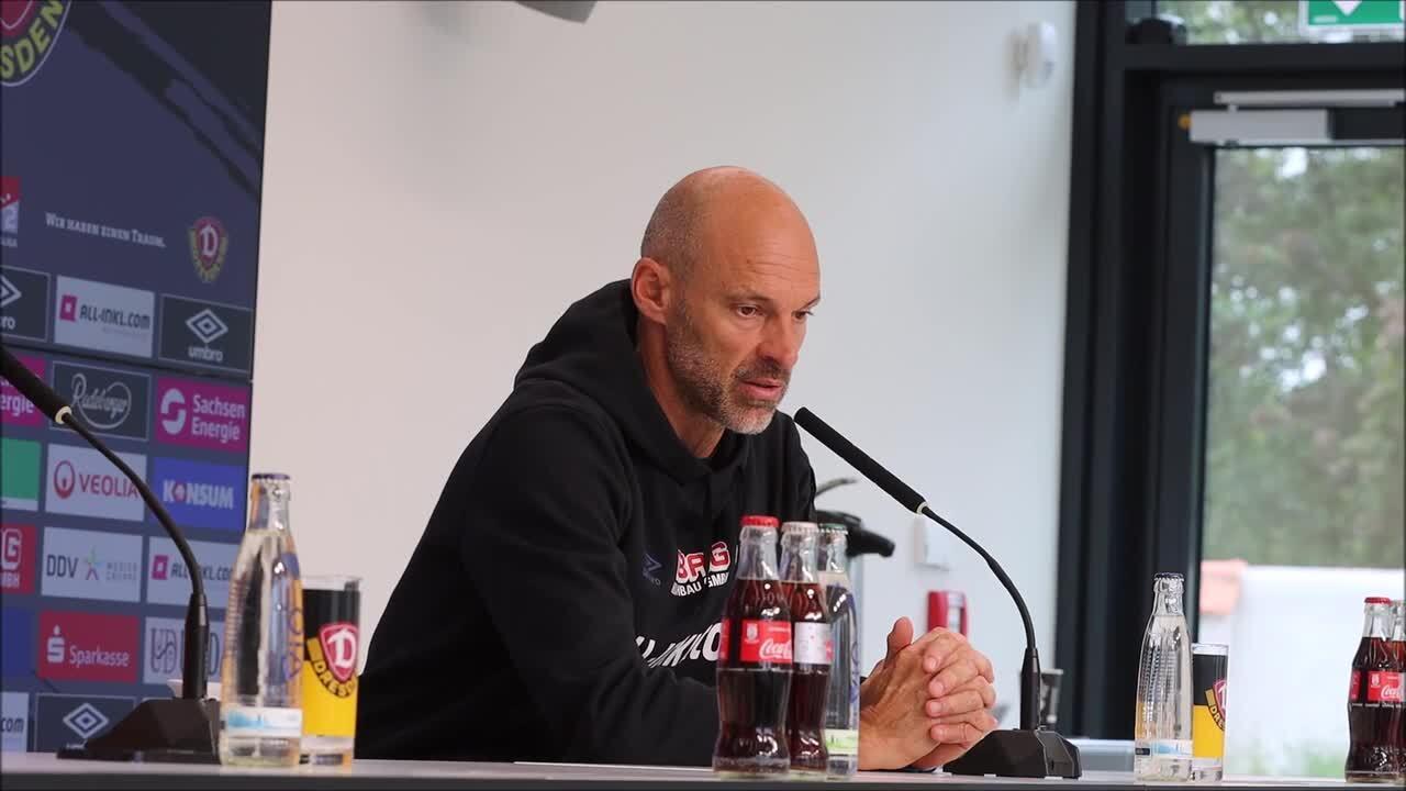 Dynamo-Trainer Alexander Schmidt über den nächsten Gegner aus Darmstadt