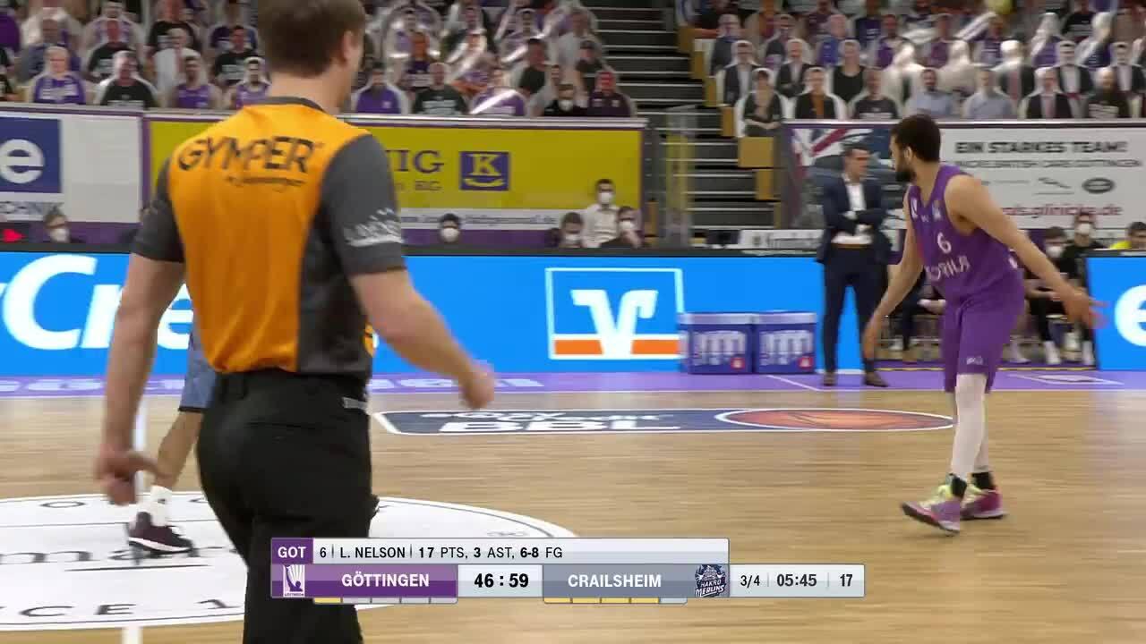 MagentaSport Highlights: BG Göttingen - Crailsheim