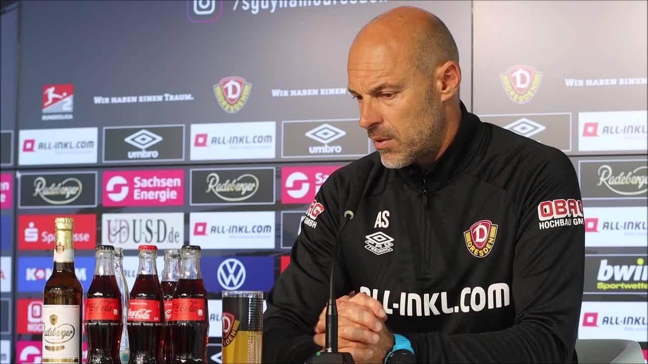 Dynamo Dresdens Trainer Alexander Schmidt über die Stärken der Nürnberger.