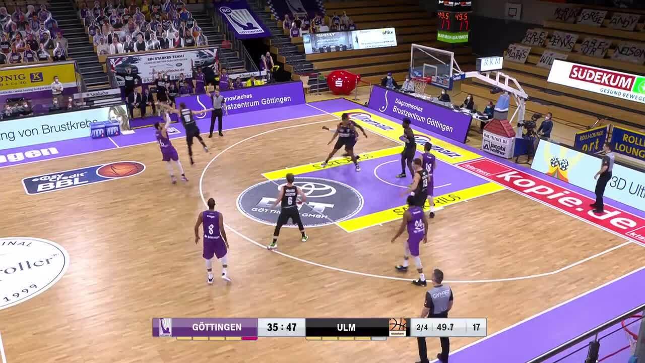 MagentaSport Highlights: ratiopharm Ulm - BG Göttingen 2020/21