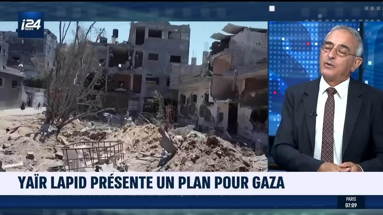 Le Hamas Et L'AP Fustigent Le Plan De Yaïr Lapid Pour La Reconstruction De Gaza - I24NEWS