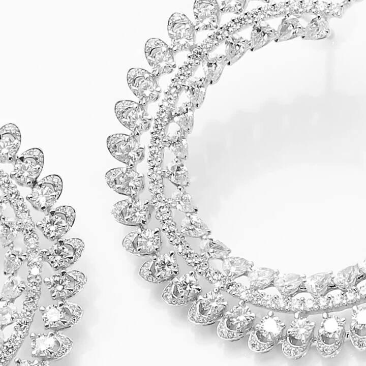 Graff Gateway Diamond Hoop Earrings