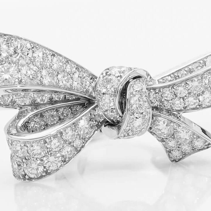 틸다의 보우 다이아몬드 링, 소재 | 그라프