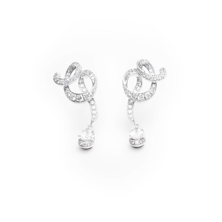 Inspired by Twombly Diamond Earrings