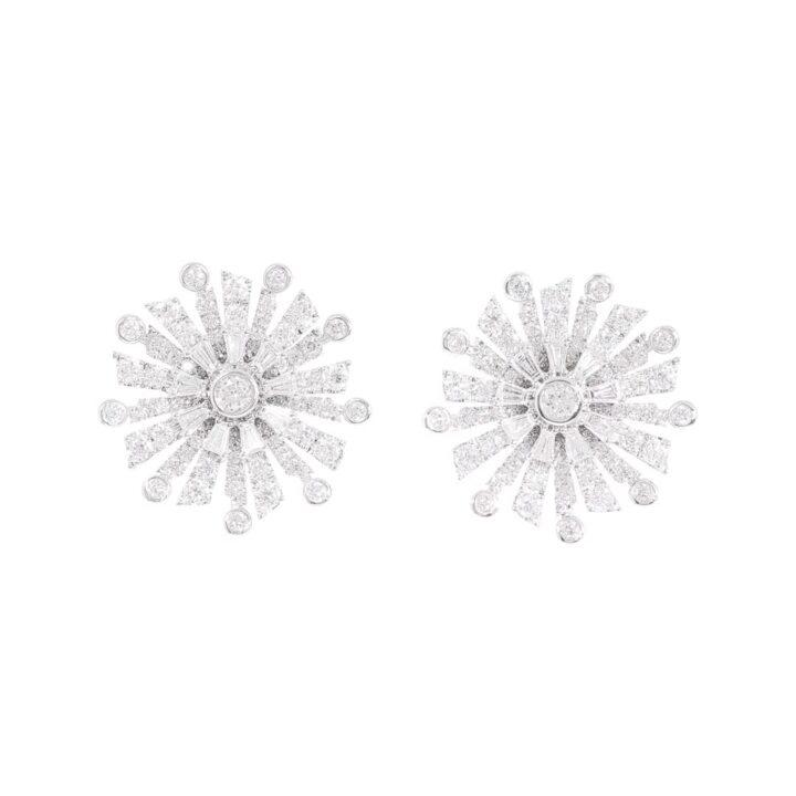 New Dawn Diamond Stud Earrings
