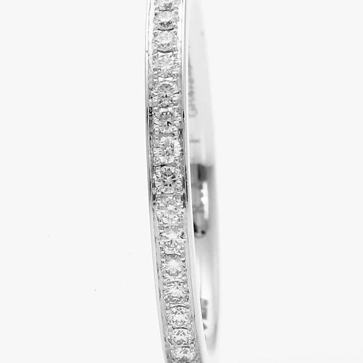 Thread Set Diamond Wedding Band