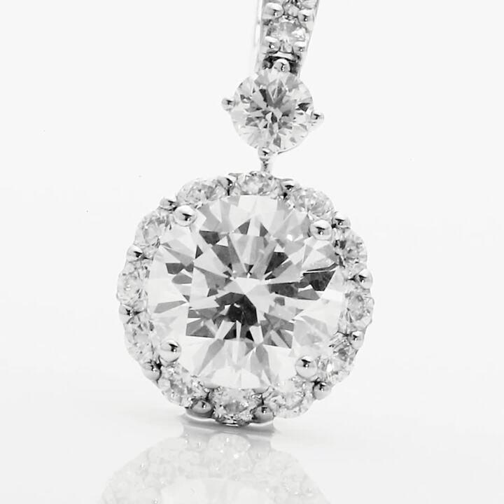 Icon Round Diamond Earrings