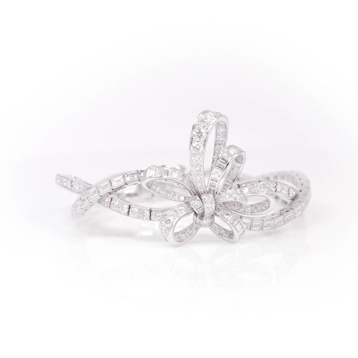 Tilda's Bow Diamond Bracelet