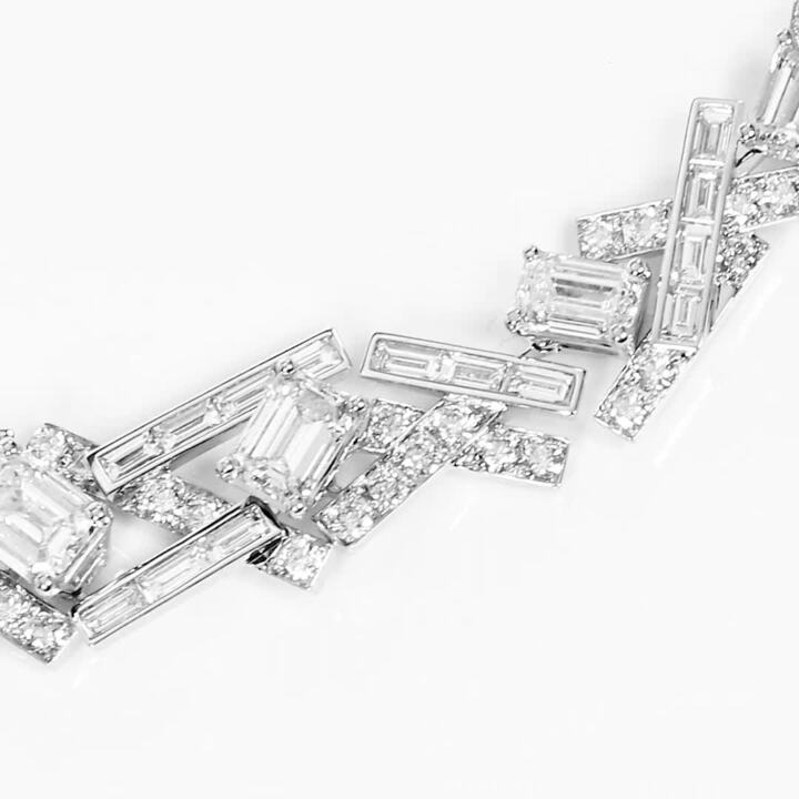 Threads Diamond High Jewellery Necklace