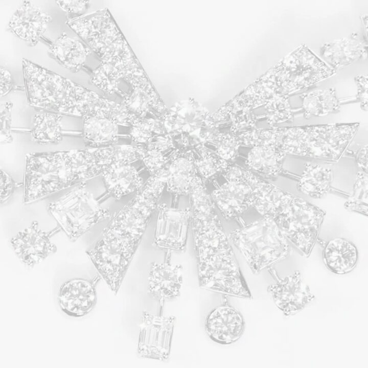 Solar钻石高级珠宝项链