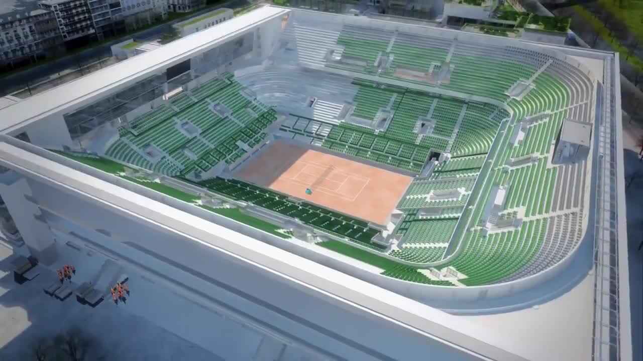 Roland Garros Location In Paris Map.Discover The Future Philippe Chatrier Court And Its Retractable Roof