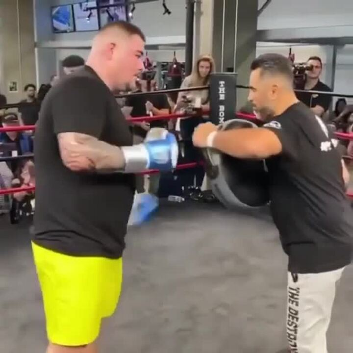 Andy Ruiz Jr Video From Training Shows Him In Dangerous Form