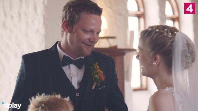 Var gift i tre måneder: Nåede aldrig at få vielsesringen på