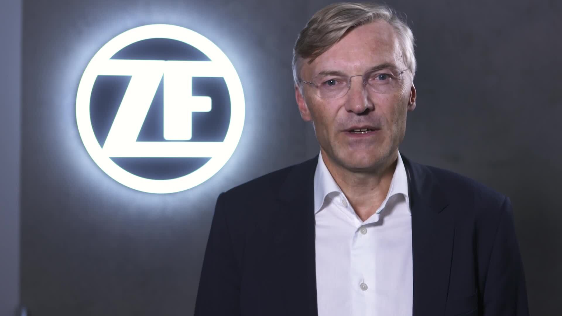 Wolf-Henning Scheider, Vorstandsvorsitzender der ZF, zur IAA 2018