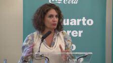 """Montero señala que hay partidos que """"contaminan"""" a los pensionistas"""