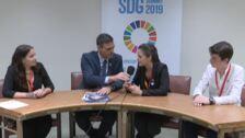 Sánchez se reúne con jóvenes activistas contra el cambio climático