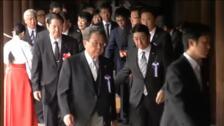 Japón homenajea a las víctimas de la II Guerra Mundial en el 74 aniversario de su rendición