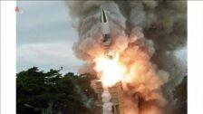 Kim Jong Un supervisa una nueva prueba balística de Corea del Norte