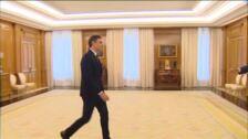Sánchez se reúne con el Rey