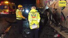 Un kamikaze mata a un conductor al colisionar con él en la M-50 de Madrid