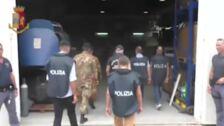 La policía italiana incauta un misil y numerosas armas automáticas a un grupo de extrema derecha