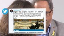 PP, Ciudadanos y Quim Torra cargan contra Pedro Sánchez por el desbloqueo de la partida autonómica antes del 10-N