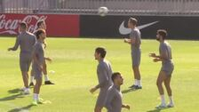Todos menos Morata para el partido frente a la Juventus