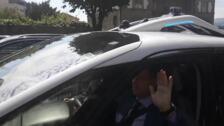 Prueba de conducción del coche autónomo