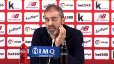 Garitano quita mérito al Valladolid tras el empate en San Mamés