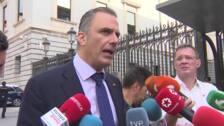 """Ortega Smith afirma que la comunicación en Madrid es """"permanente"""""""