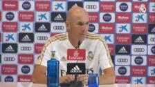Zidane no contempla la salida de Keylor Navas del Real Madrid