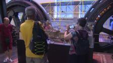 La exposición '100 años de Metro' hace un recorrido por el pasado