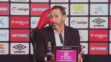 """Garitano: """"Los dos equipos hemos querido ganar"""""""